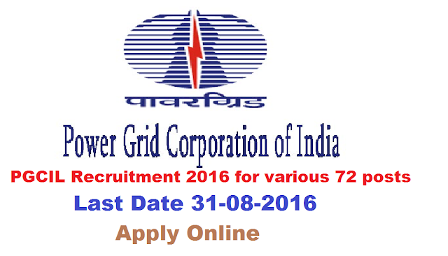 "Recruitment Notification of POWER GRID CORPORATION OF INDIA LIMITED| PGCIL Recruitment 2016|POWER GRID CORPORATION OF INDIA LIMITED|(A Government of India Enterprise)|SOUTHERN REGION TRANSMISSION SYSTEM – I|POWERGRID, a ""Navratna"" Public Sector Enterprise under the Ministry of Power, Govt. of India and the Central Transmission Utility (CTU)