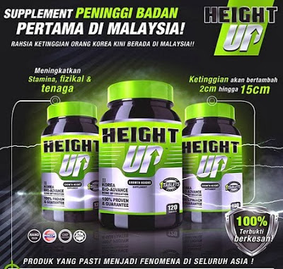 HEIGHT UP SUPPLIMENT UNTUK TAMBAH KETINGGIAN
