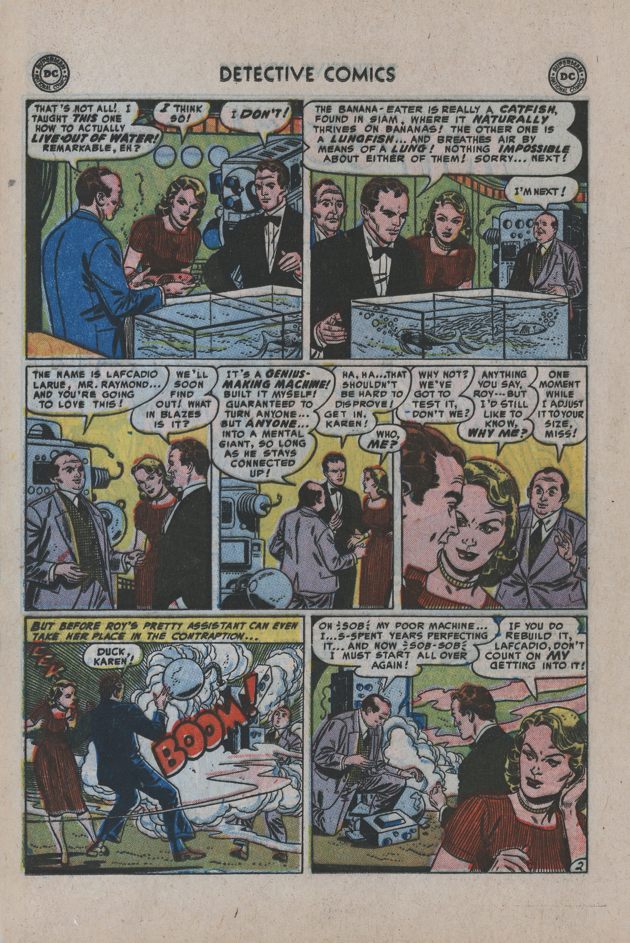 Read online Detective Comics (1937) comic -  Issue #200 - 19