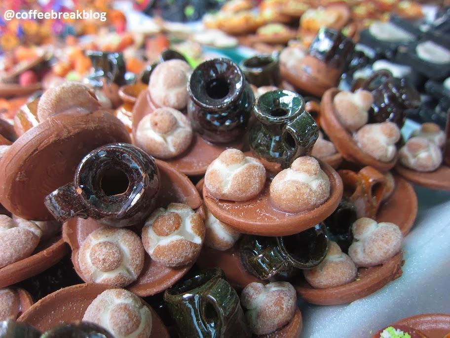 Mercadito de los Muertos - cibo in miniatura per altare