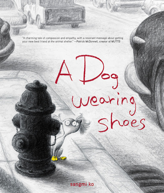 http://www.penguinrandomhouse.com/books/235376/a-dog-wearing-shoes-by-sangmi-ko/