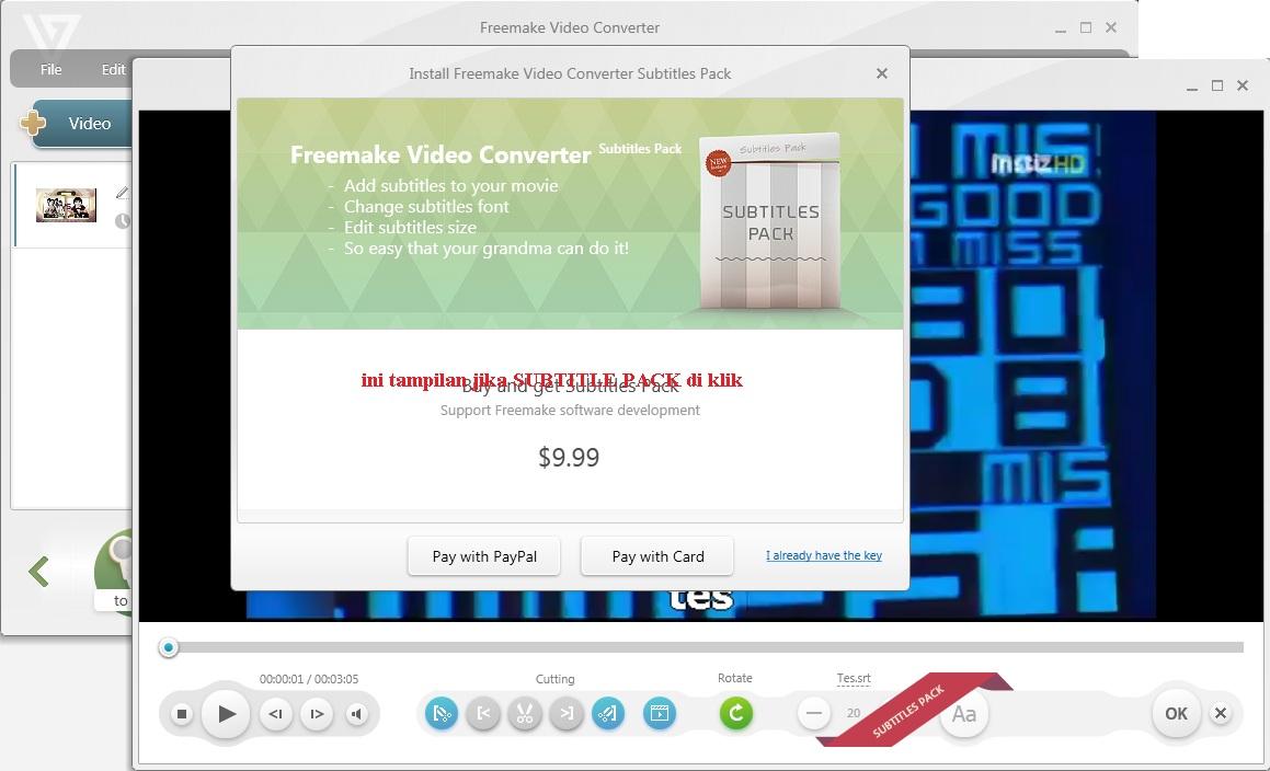 Cara Menggabungkan Subtitle Dengan Video Untuk Upload