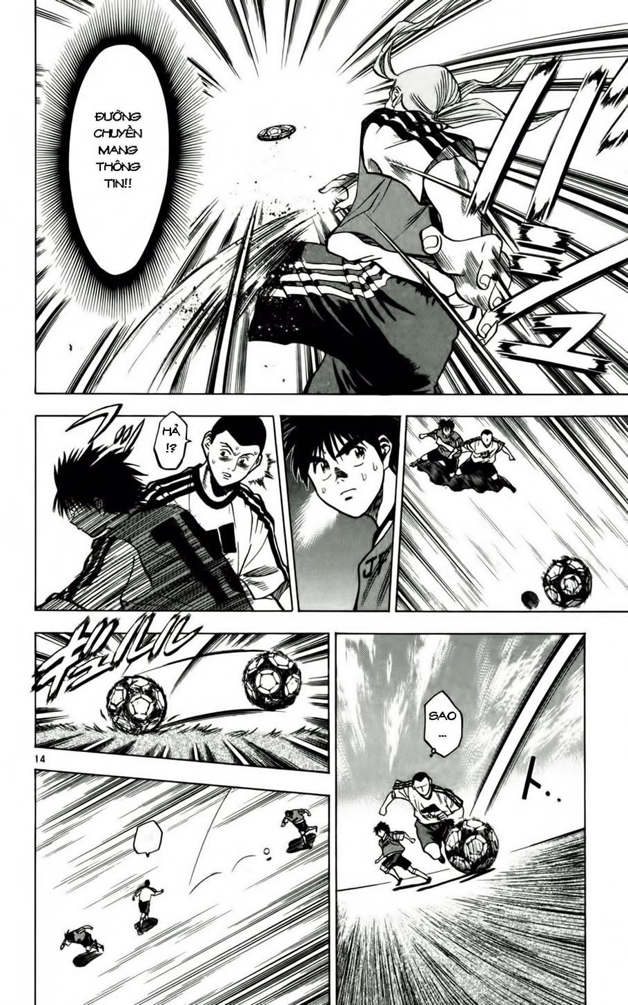 Fantasista chap 54 trang 19