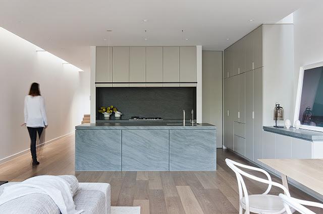 Cocina muebles integrados