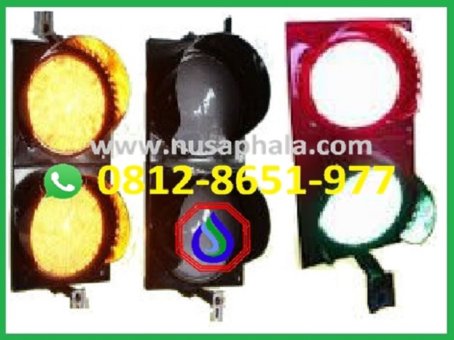 lampu traffic light 2 aspek