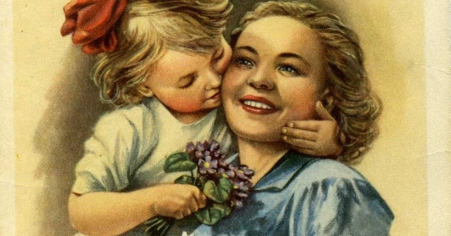 Открытки мама детские, открытки новому