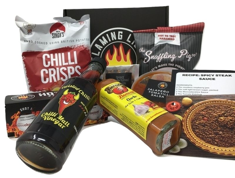 Best Food Subscription Boxes - Flaming Licks
