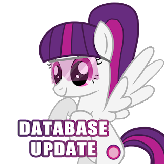 MLP Merch Database Update - Databases Split and More