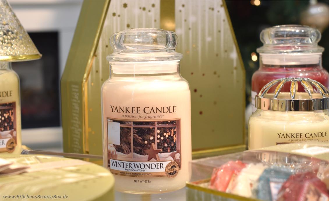 Yankee Candle - Alle Kollektionen und Duftbeschreibungen für 2018 - Winter- Weihnachtskollektion Holiday Sparkle - Winter Wonder