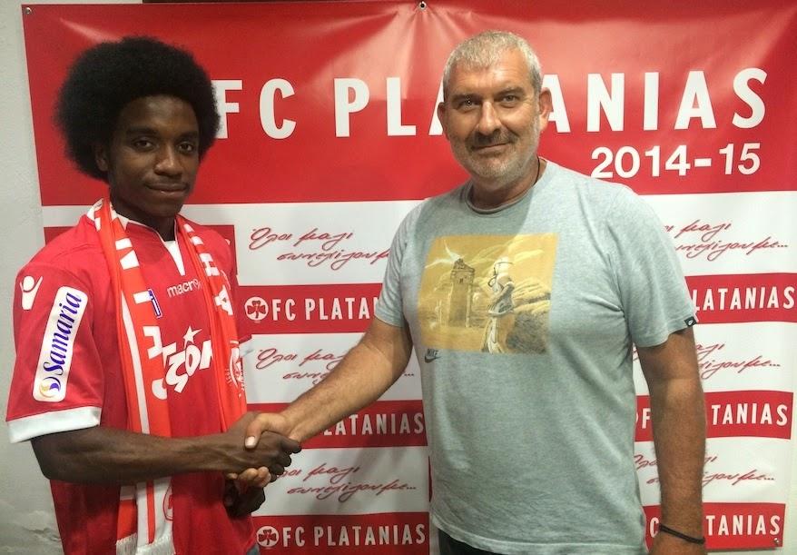 Την αποδέσμευση του Walter Figueira ανακοίνωσε ο Πλατανιάς