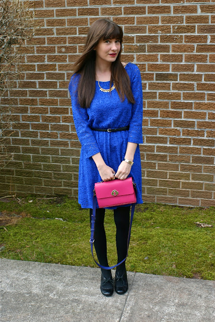 blue lace dress | house of jeffers