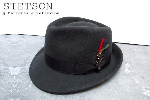 Chapeau gris Stetson