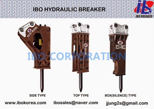 HYDRAULIC BREAKER - IBO BREAKER: IBO Hydraulic Breaker (jack