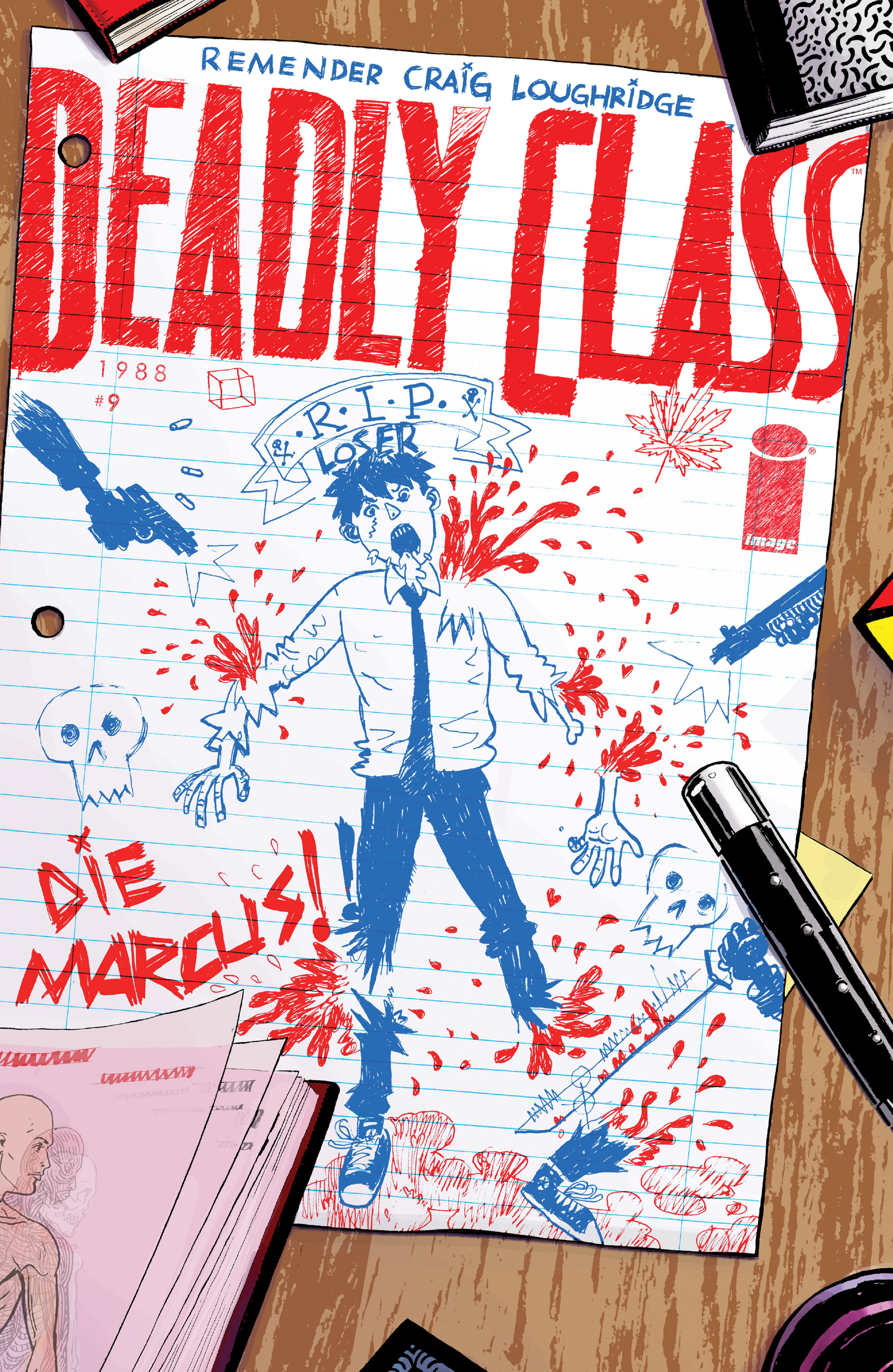 Deadly Class 9 Page 1