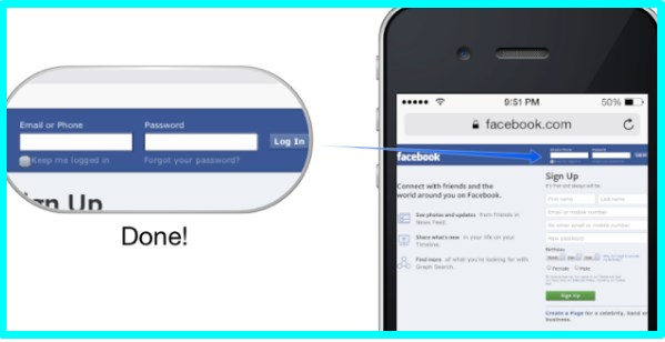how to access facebook full site on mobile phone