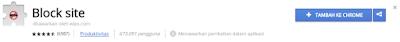 Cara Memblokir Situs Di Browser Google Chrome Dengan Blocksite