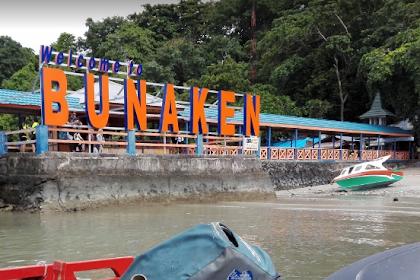 Lokasi Rute Wisata Taman Nasional Bunaken dan Tiket Masuk