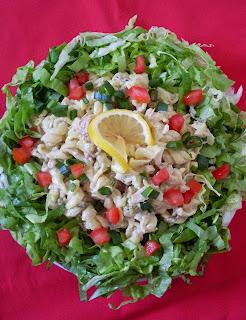 Salata sa pastom i tunom