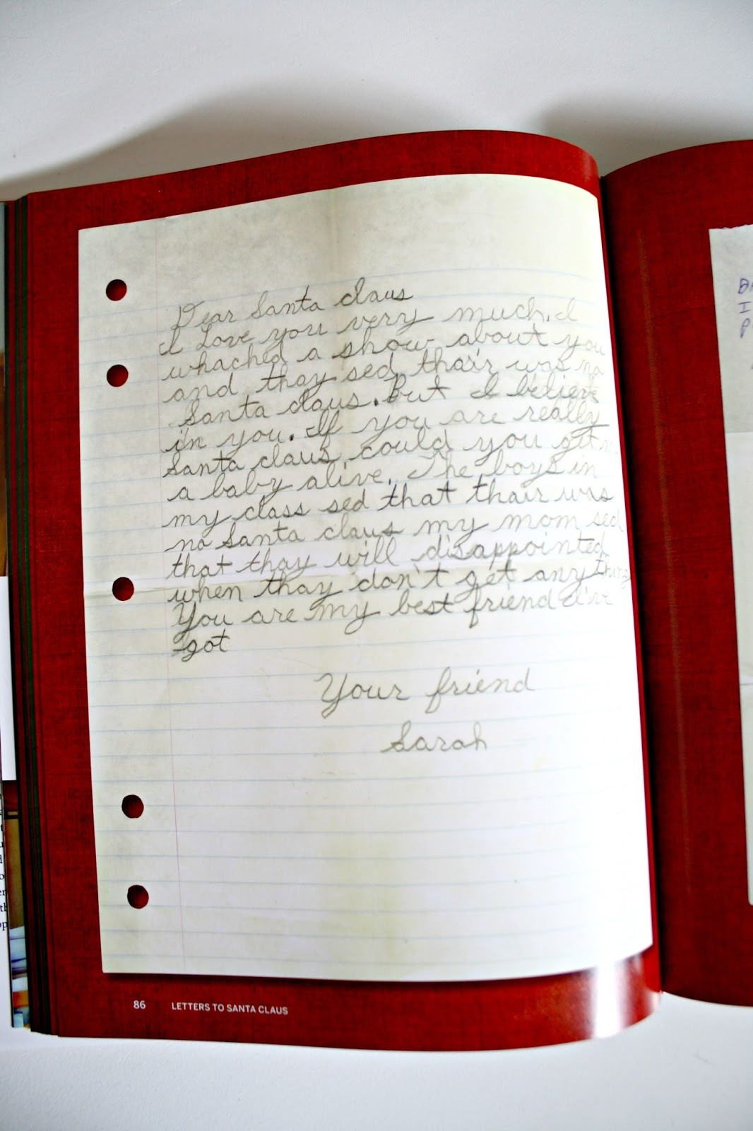 How I found my letter to Santa 30 years later