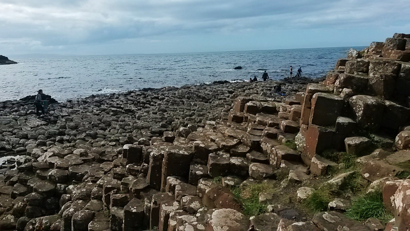 Visiting the Giant's Causeway in Northern Ireland