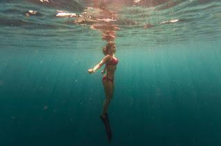 Shriya Saran in Bikini Enjoying her Holidays