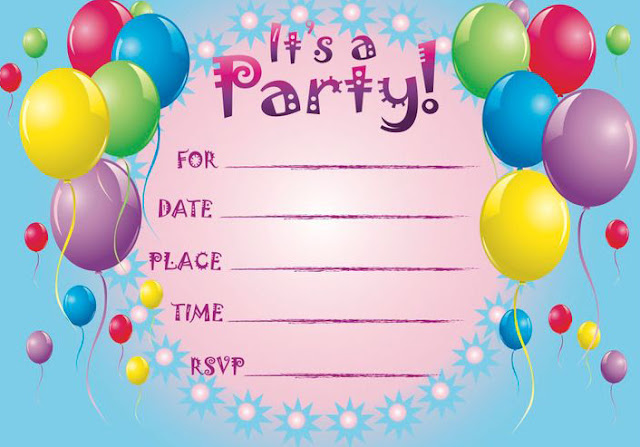Buying the best birthday invitations from online shops