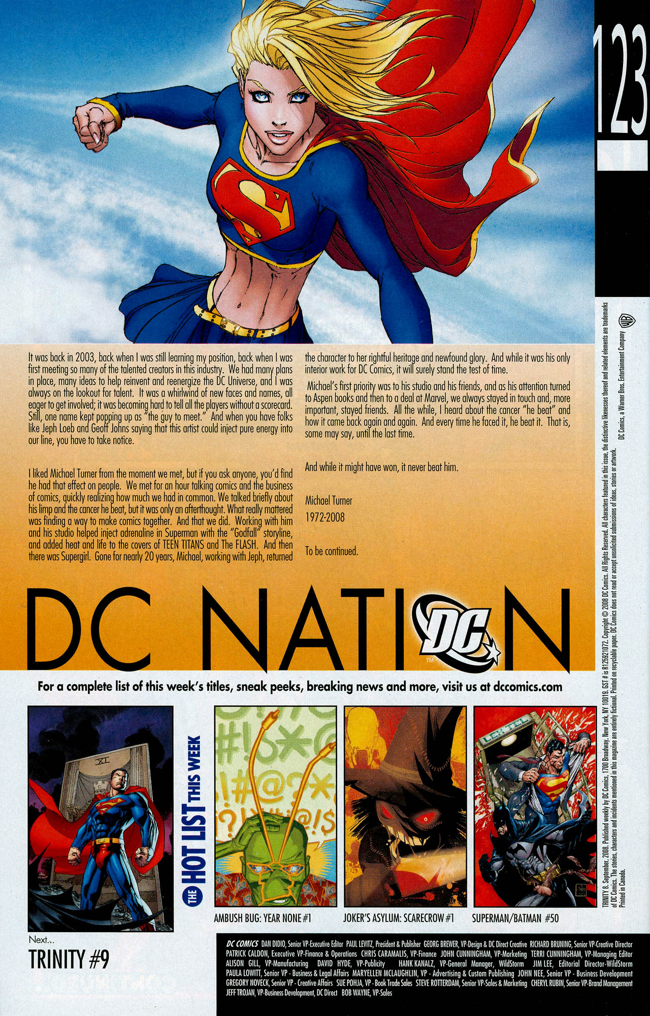 Read online Trinity (2008) comic -  Issue #8 - 32