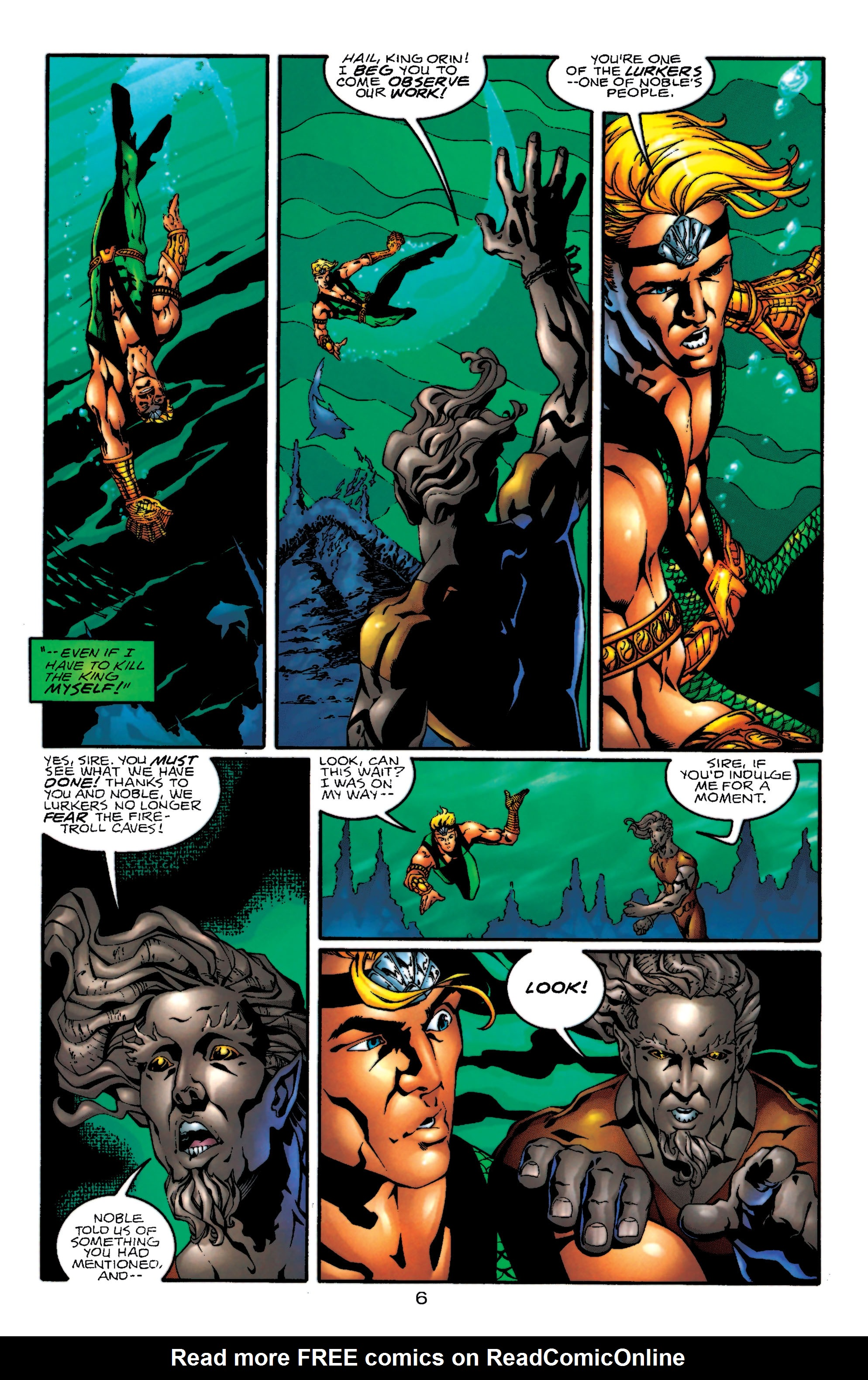 Read online Aquaman (1994) comic -  Issue #55 - 7