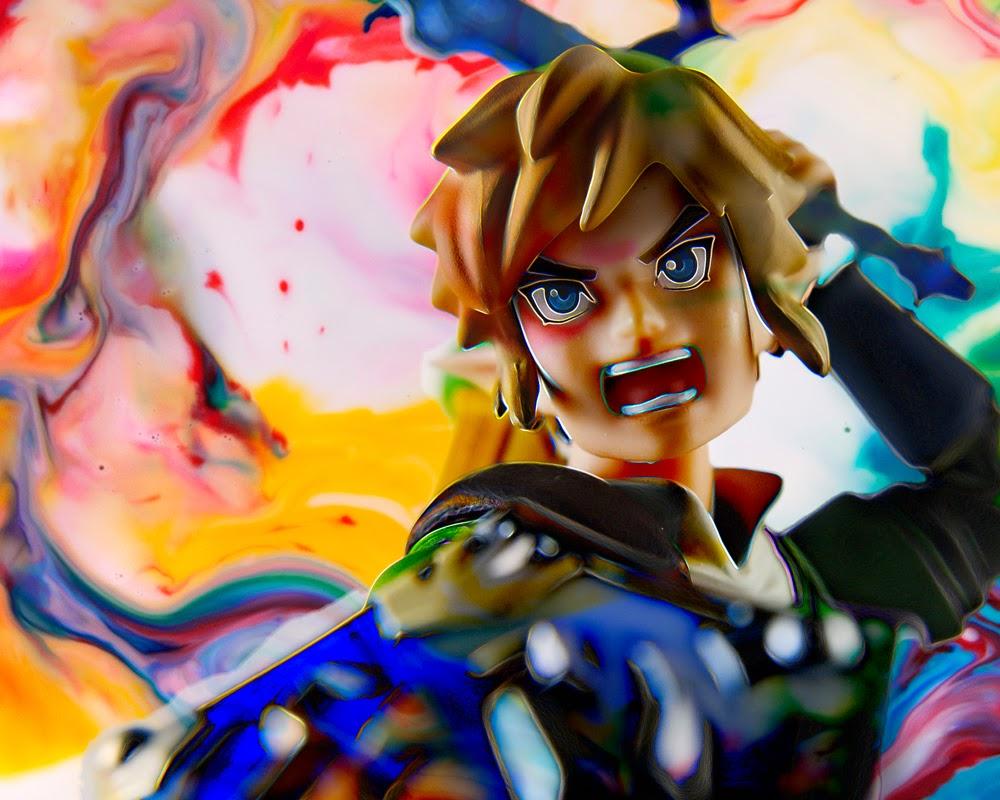 Fine Art of Link Zelda Toy