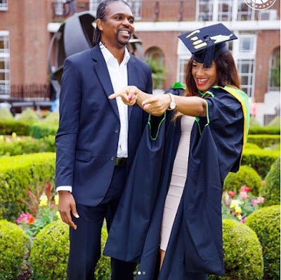 Kanu Nwankwo & Wife Celebrate 14th Wedding Anniversary