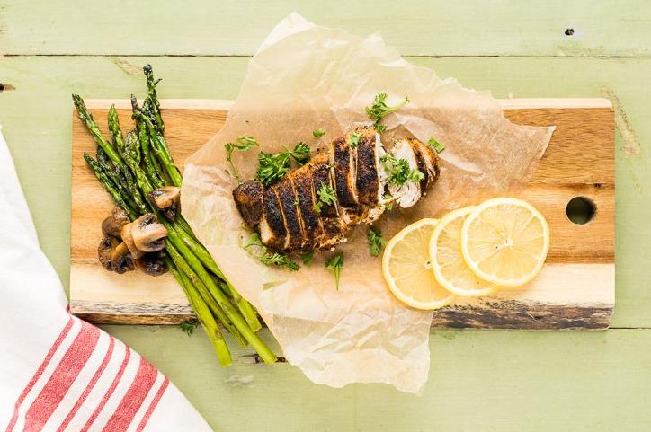 Resep Dan Cara Membuat Ayam Hitam Cajun Serta Kandungan Gizi didalamnya