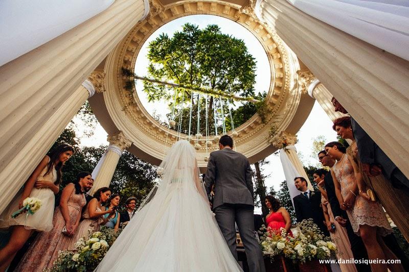 cerimonia - altar - noivos - palacio dos cedros - casamento de princesa - casamento conto de fadas - casamento de dia - casamento ao ar livre