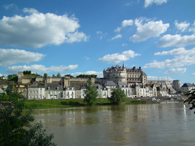 Amboise.  Indre et Loire, France. Photographed by Susan Walter. Tour the Loire Valley with a classic car and a private guide.