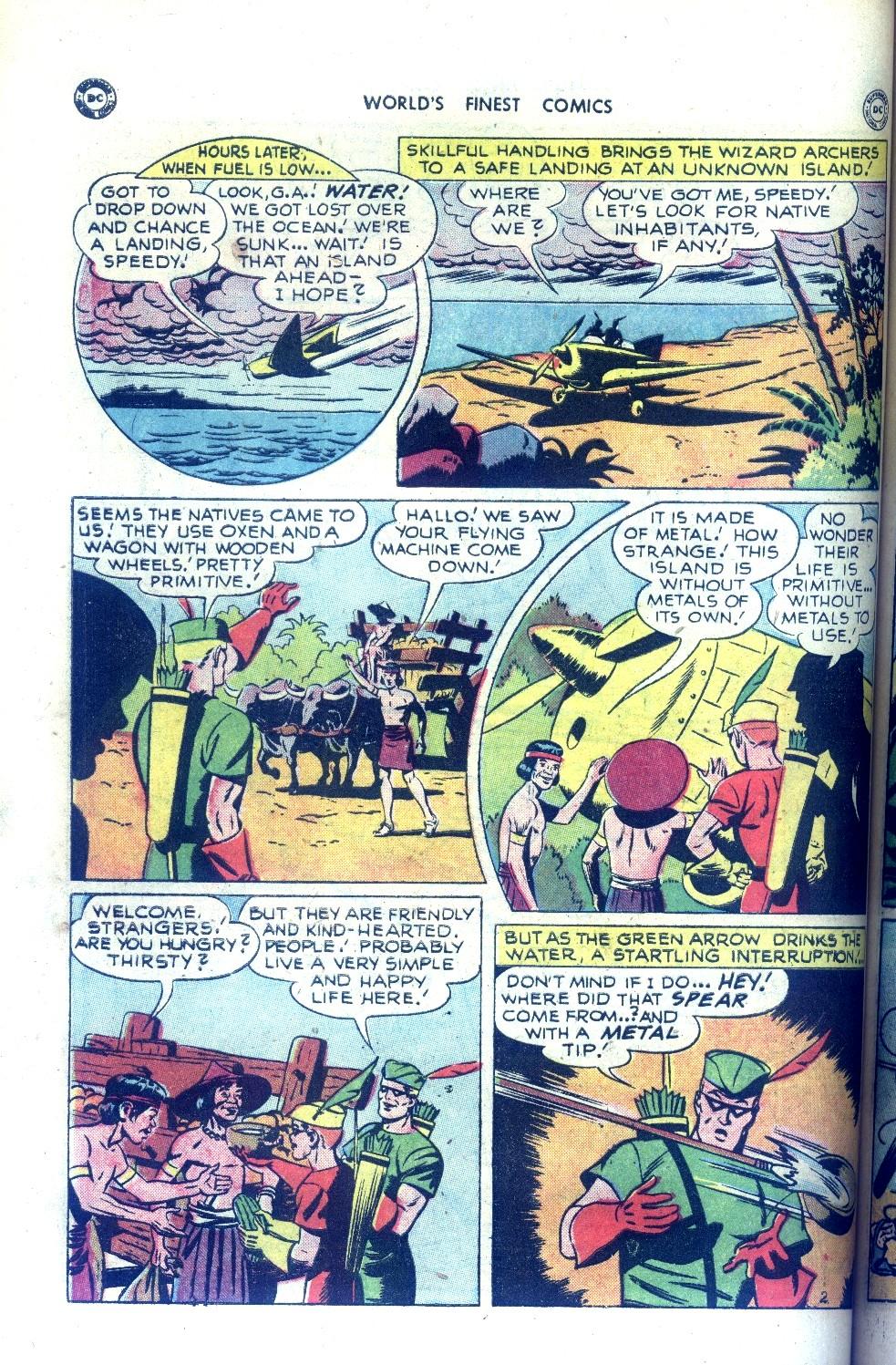 Read online World's Finest Comics comic -  Issue #43 - 42