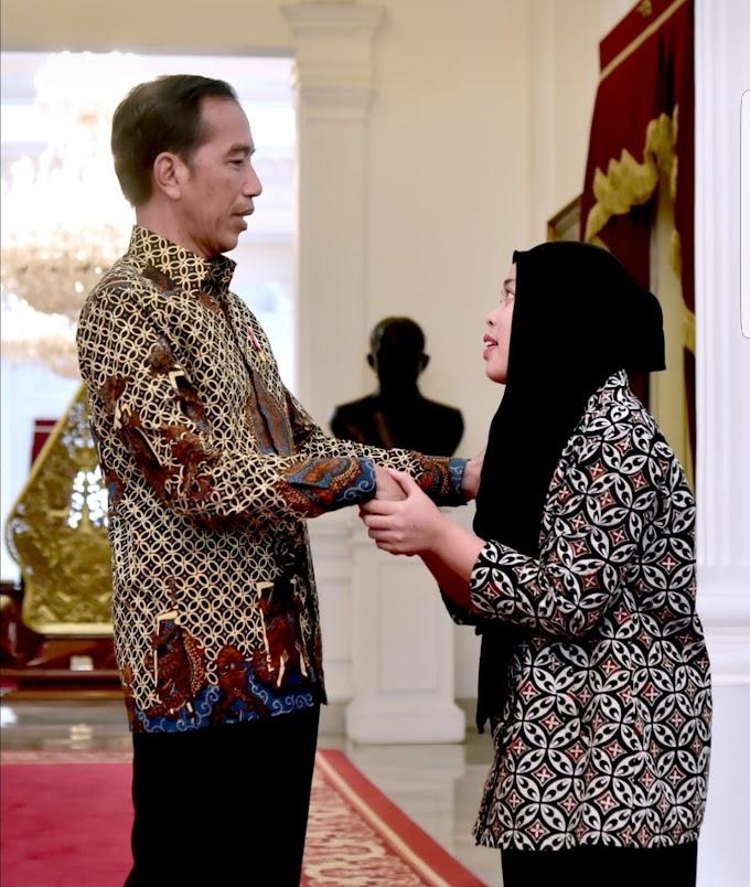 Presiden Jokowi Bersyukur Siti Aisyah Terbebas dari Hukuman