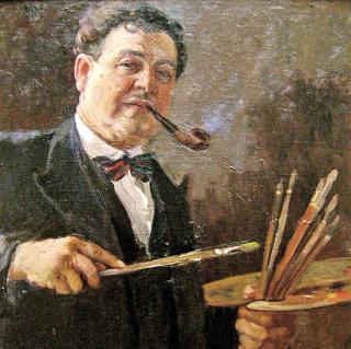 Александр Герасимов. Автопортрет