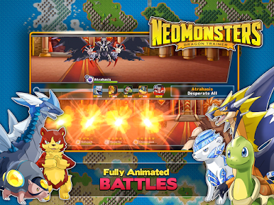Download Neo Monster v1.4.3 apk [MOD] Terbaru