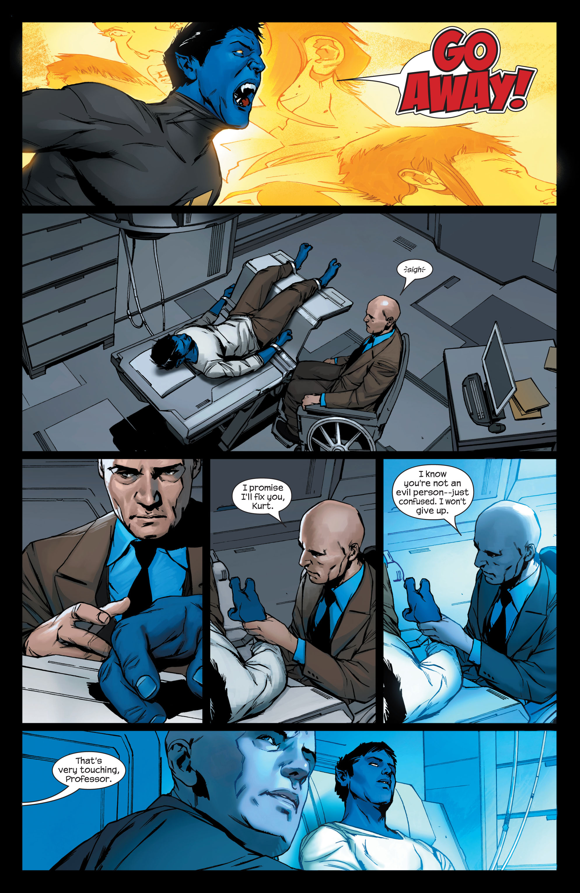 Read online Ultimate X-Men comic -  Issue #75 - 14