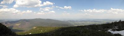 Panorama z Kępy na północny wschód