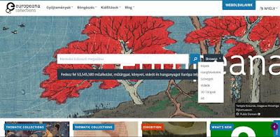 Europeana keresés