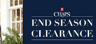 CHAPS End Season Clearance 2017