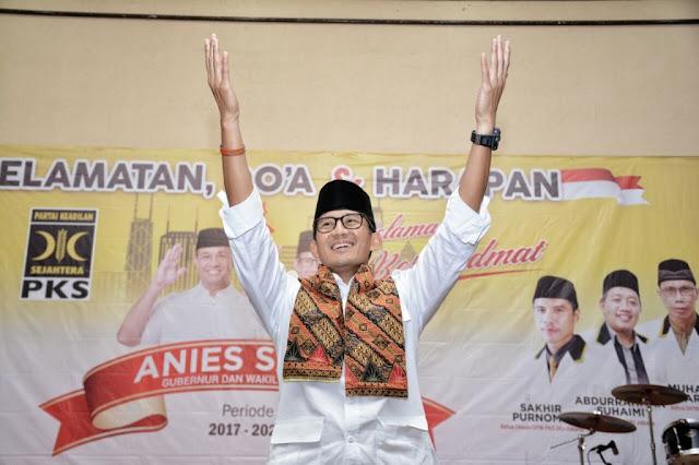 Jelang Pelantikan Anies-Sandi, PKS Selenggarakan Selamatan