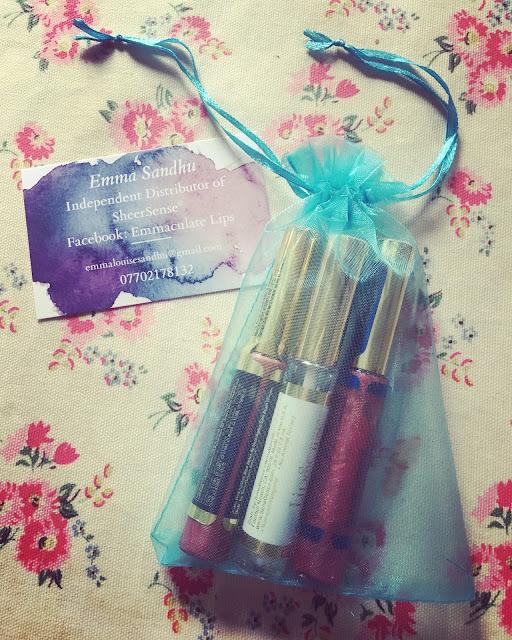 LipSense lipstick from Emmaculate Lips UK