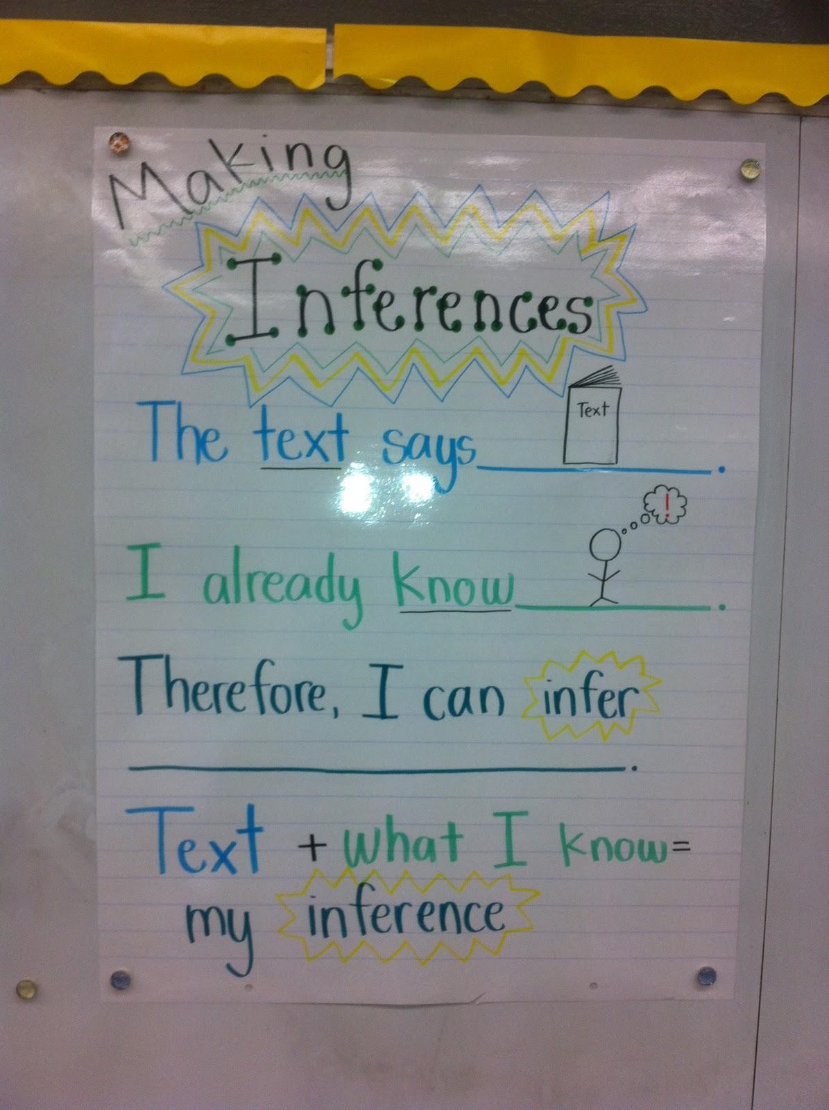 4th Grade In Ya Face Inferring