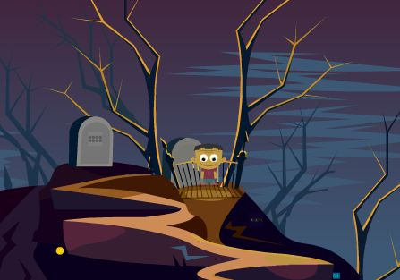 KidsJollyTv Halloween Super Escape Walkthrough