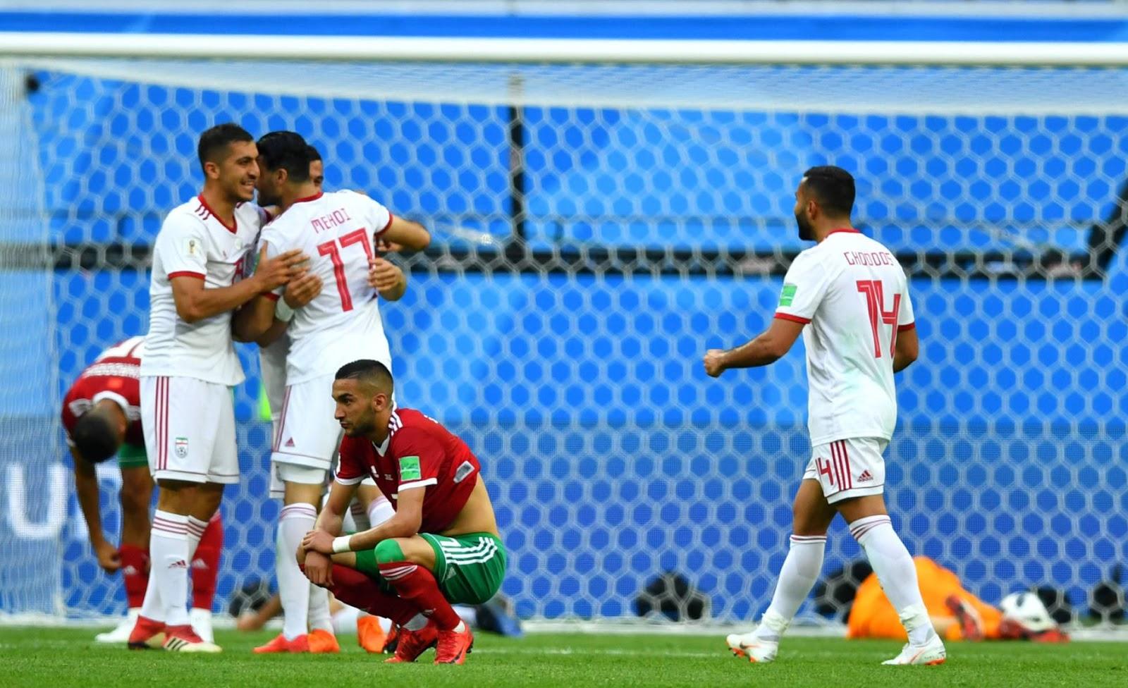 Irán se impuso por 3 a 1 al plantel africano / REUTERS