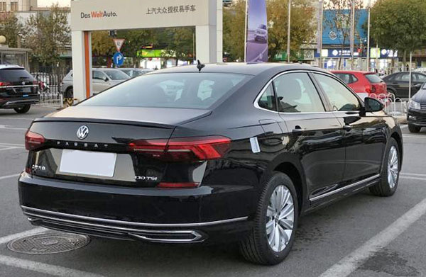 Burlappcar All New 2020 Vw Passat In The Wild Already