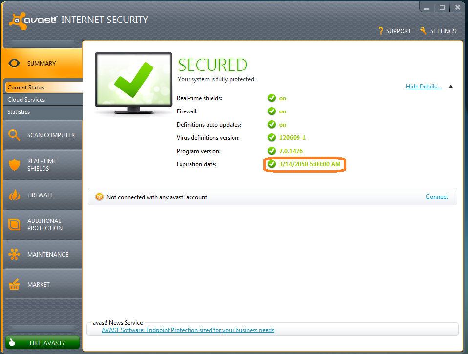 Avast internet security 7 keygen free download