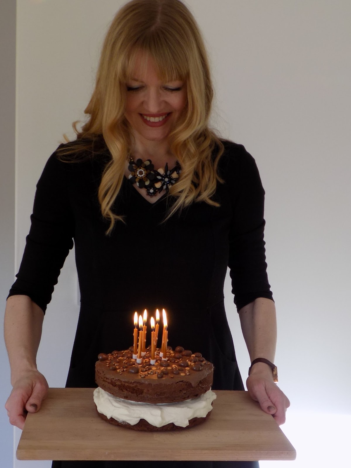 What Lizzy Loves, chocolate birthday cake