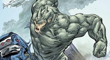 Rhino adalah musuh spiderman